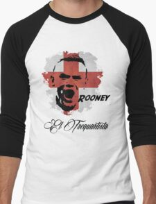 ENGLAND NATIONAL TEAM WAYNE ROONEY WC 14 FOOTBALL T-SHIRT  Men's Baseball ¾ T-Shirt