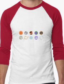 mimilist planets Men's Baseball ¾ T-Shirt