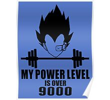 power over 9000 Poster