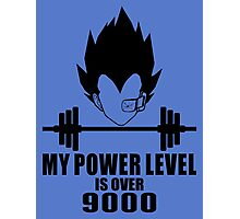 power over 9000 Photographic Print