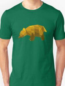 origami made brown bear T-Shirt