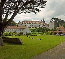 The Monastery at Caldey Island, Pembrokeshire by trish725