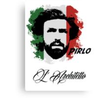 ITALIA ANDREA PIRLO WC 14 FOOTBALL T-SHIRT Canvas Print
