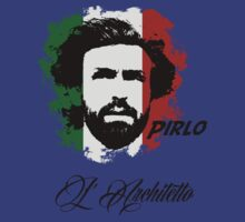 ITALIA ANDREA PIRLO WC 14 FOOTBALL T-SHIRT by sportskeeda