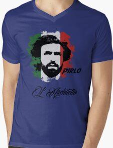ITALIA ANDREA PIRLO WC 14 FOOTBALL T-SHIRT Mens V-Neck T-Shirt