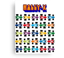 RALLY-X CLASSIC ARCADE GAME Canvas Print