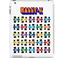 RALLY-X CLASSIC ARCADE GAME iPad Case/Skin
