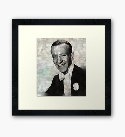 Fred Astaire Framed Print