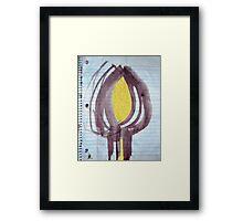 soul are burst 2 Framed Print