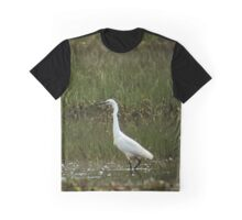 White wader Graphic T-Shirt