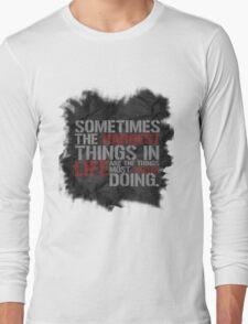 Castle-isms #1 Long Sleeve T-Shirt