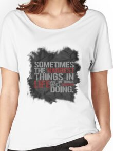 Castle-isms #1 Women's Relaxed Fit T-Shirt