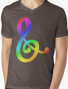 MLP - Cutie Mark Rainbow Special - Octavia Melody Mens V-Neck T-Shirt