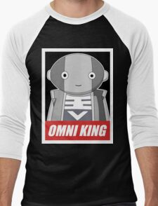 omni king Men's Baseball ¾ T-Shirt