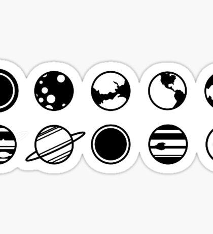 planets Sticker