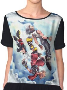 Kingdom Hearts Chiffon Top