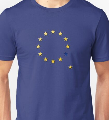 Brexit, leaving the EU Unisex T-Shirt