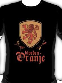 Netherlands Bleed Oranje T-Shirt