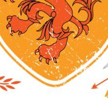 Netherlands Bleed Oranje Sticker