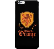 Netherlands Bleed Oranje iPhone Case/Skin