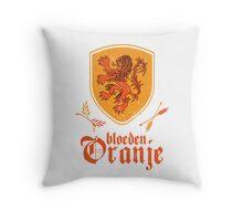 Netherlands Bleed Oranje Throw Pillow