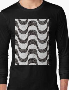 RIO DE JANEIRO - COPACABANA BEACH SIDEWALK Long Sleeve T-Shirt