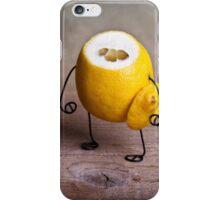Simple Things - Headless Lemon iPhone Case/Skin