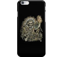 Native American Chief Skull iPhone Case/Skin