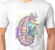 Horse of the sea - Galaxy Variant   Unisex T-Shirt