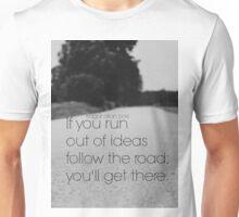 Edgar Allan Poe Road Unisex T-Shirt