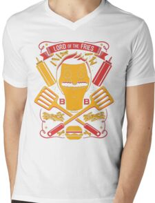 Lord Of The Fries Mens V-Neck T-Shirt