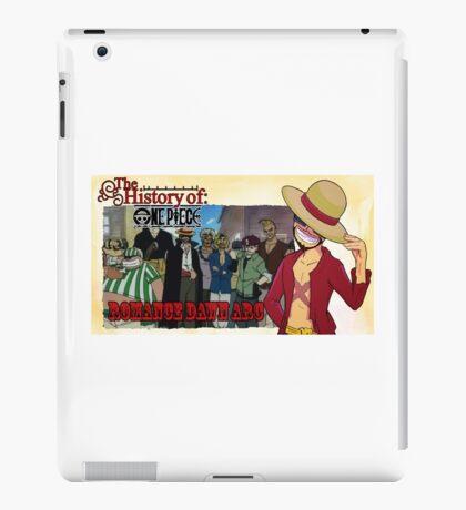 History Of One Piece: Romance Dawn iPad Case/Skin