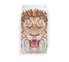 Head Of The Roaring Lion  Duvet Cover