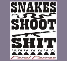 Snakes Shoot Shit Kids Tee