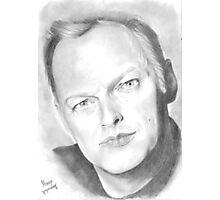Portrait of David Gilmour  Photographic Print