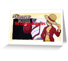 History Of One Piece: Captain Buggy Arc Greeting Card