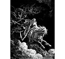 DEATH, Death on the Pale Horse, Revelation, Revenge, Gustave Doré, (1865), Revelations, Seven Seals Photographic Print