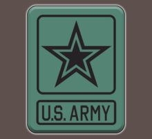 ARMY, United States, America, American, US, USA, Shoulder Sleeve, Insignia, Headquarters,  Baby Tee