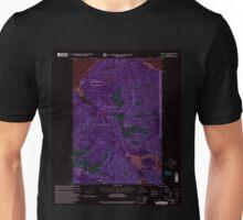 USGS TOPO Map Alaska AK Juneau A-6 356322 2000 63360 Inverted Unisex T-Shirt