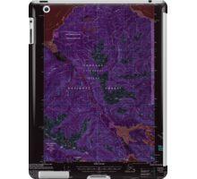 USGS TOPO Map Alaska AK Juneau A-6 356322 2000 63360 Inverted iPad Case/Skin