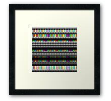 Candy Wall Framed Print