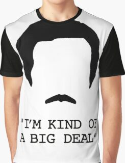 funny t-shirt quote, I'm kind of a big deal Graphic T-Shirt