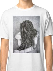 Farewell, 2015, 50-70cm, graphite crayon on paper Classic T-Shirt