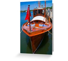 Fancy Cruiser Greeting Card