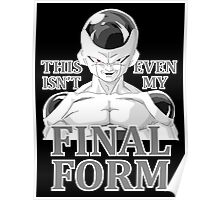 frieza form Poster