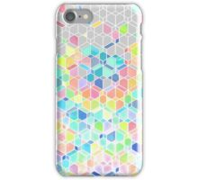 Rainbow Cubes & Diamonds iPhone Case/Skin