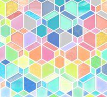 Rainbow Cubes & Diamonds Sticker