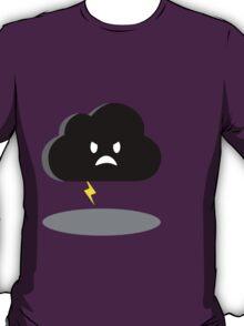 angry lightning cloud T-Shirt