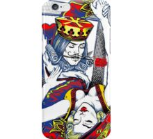 Dancing King and Queen Playing cards iPhone Case/Skin