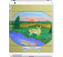 The Fawn , at Sunrise, Sunset iPad Case/Skin